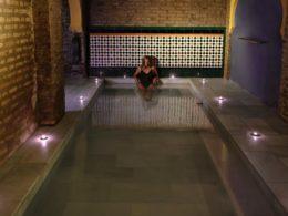 Sesión de Baño Árabe en el Aljibe de San Miguel de Granada