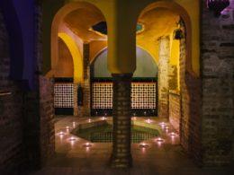 Baño en el Aljibe de San Miguel de Granada