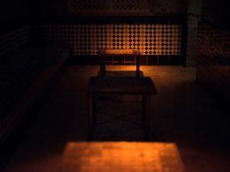 Ambiente relajante en el Aljibe de San Miguel de Granada
