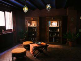Sala de descanso en el Aljibe de San Miguel de Granada