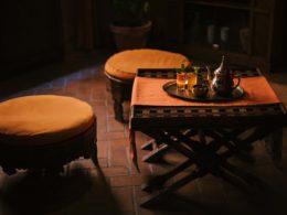 Sala de descanso para tomar el té en el Aljibe de San Miguel de Granada