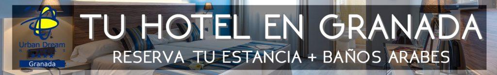 Promoción Hotel Urban Dream y baños árabes en el Aljibe de San Miguel de Granada