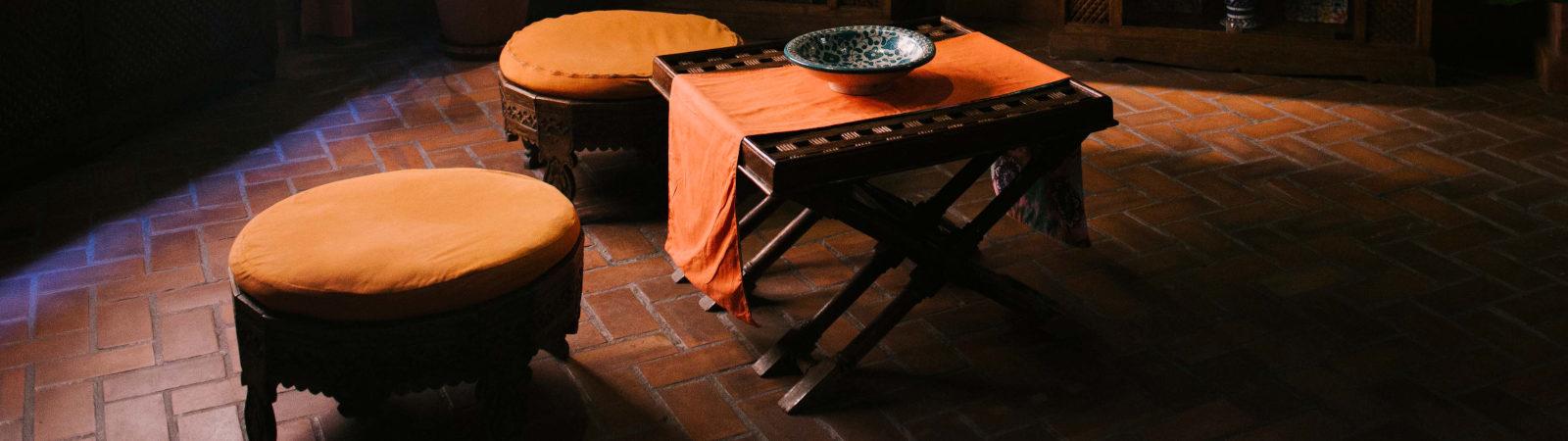 Ambientación nazarí en el Aljibe de San Miguel de Granada