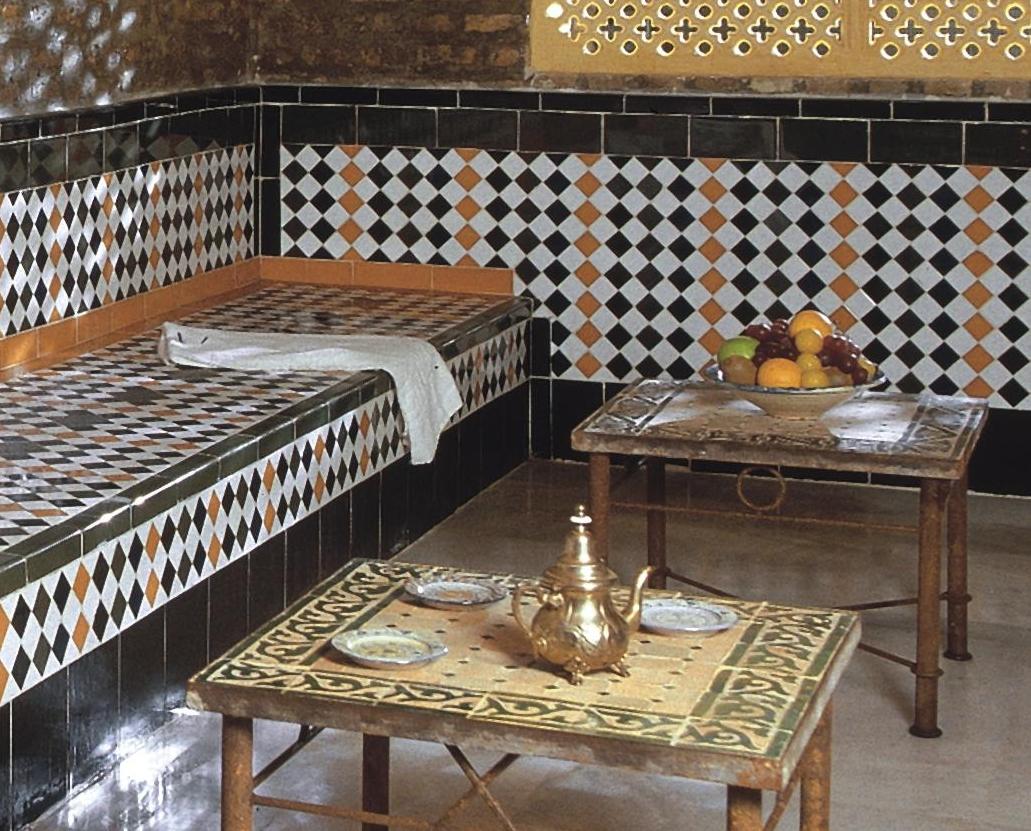 Sala de descanso del Aljibe de San Miguel de Granada